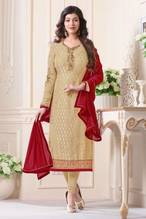 Ayesha Takia Chiku Brasso Heavy Embroidery on Neck and Sleeve Salwar Kameez
