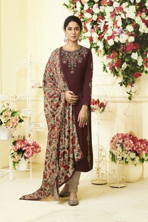 Jennifer Brown Muslin Silk Salwar Kameez