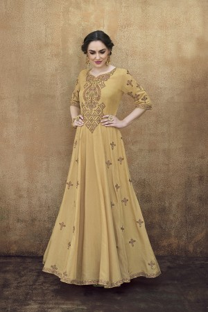 Golden Rayon Gown