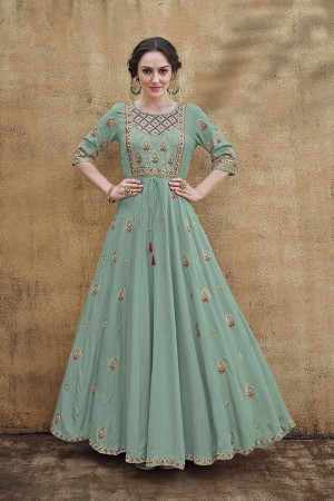 Pista Rayon Gown