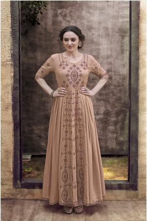 Chiku Rayon Gown