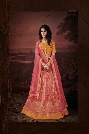 Pink Imported Lehenga Choli