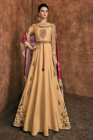 PineApple Heavy Soft Silk Salwar Kameez