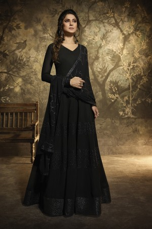 Jennifer Black Georgette Salwar Kameez
