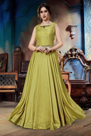 Leamon Soft Silk Gown