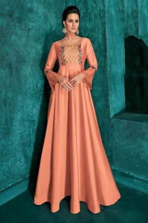 Fenta Silk Gown