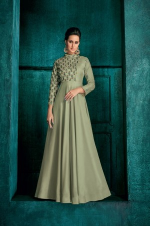 Pista Silk Gown