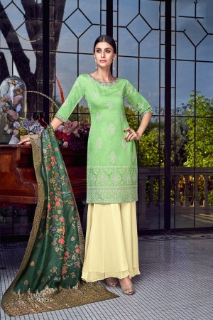 Liril Silk Semi Stitch Salwar Kameez
