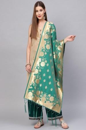 Rama Banarasi Silk Dupatta