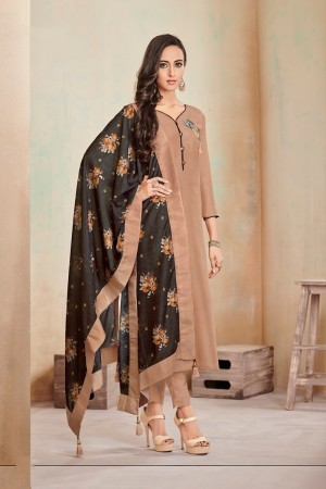Chiku Jam Cotton Churidar Suit