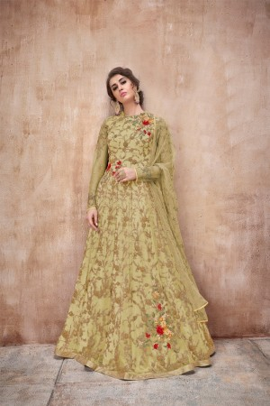 Liril Net Anarkali Suit