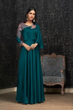Rama Glowing Georgette Gown