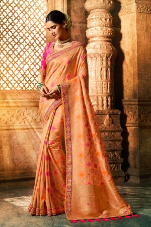 Fenta Silk Saree with Blouse