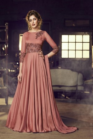 Rose Dawn Modal Satin Gown