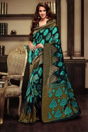 Disha patani Black Kanjeevaram Art Silk Jacquard Banarasi Designer Sarees