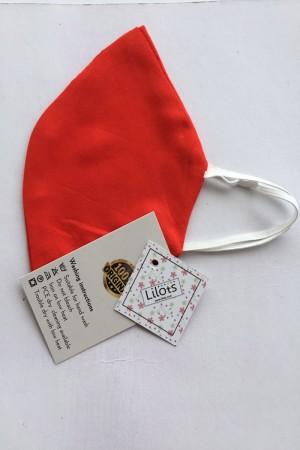 Orange Cotton Mask