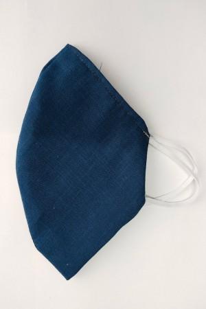 Blue Cotton Mask