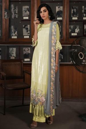 Liril Faux Georgette Salwar Kameez