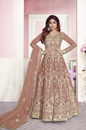 Coffee Net Salwar Kameez