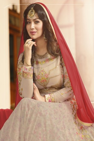 Ayesha Takia Salomon Georgette Heavy Embroidery Zari, Thread & Diamond Work  Salwar Kameez