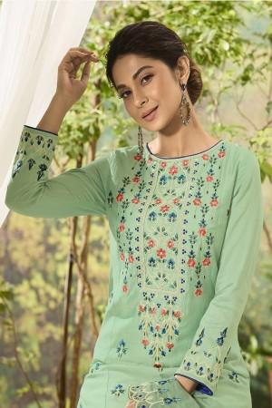 Jennifer Pista Muslin Silk Salwar Kameez