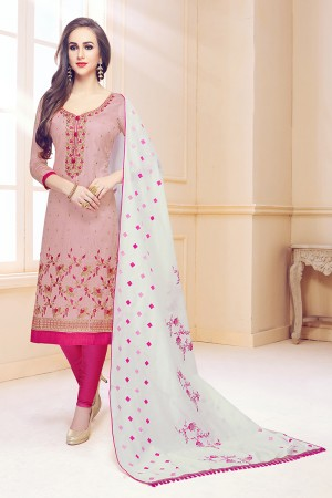 Lychee Cotton Dress Material