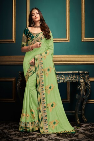 Liril  Satin Georgette Saree with Blouse
