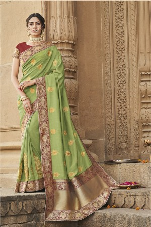 Liril Cotton Silk Saree with Blouse