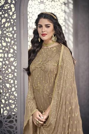 Chiku Net Salwar Kameez