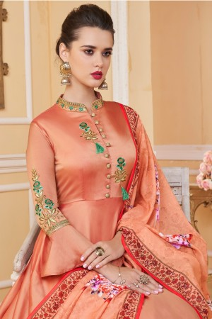 Fenta Soft Silk Salwar Kameez