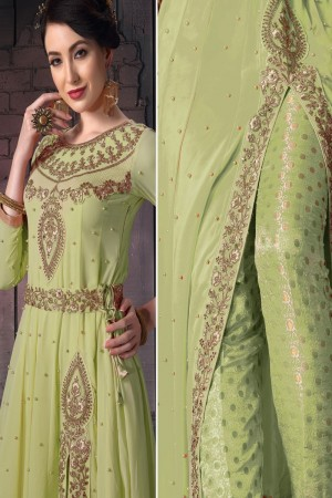 Liril Georgette Anarkali Suit