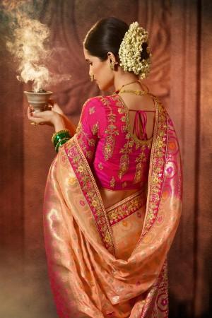 Fenta Silk Saree with Blouse
