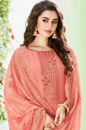 Fenta Cotton Silk Salwar Kameez
