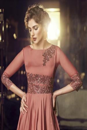 Rose Dawn Modal Satin Gown