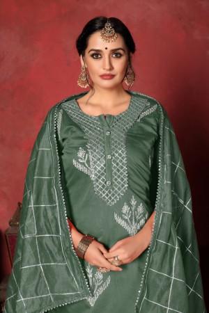 Pine Modal Cotton Salwar Kameez