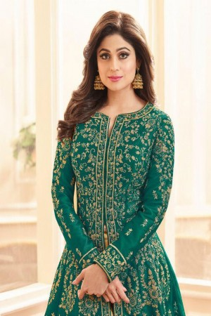 Rama Royal Silk Salwar Kameez