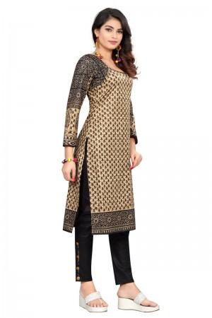 Majestic Multicolor Cotton Bandhni Dress Material