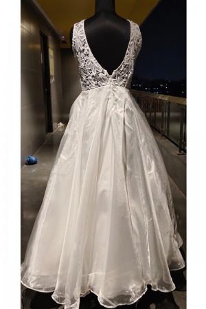 White Tissue Gown