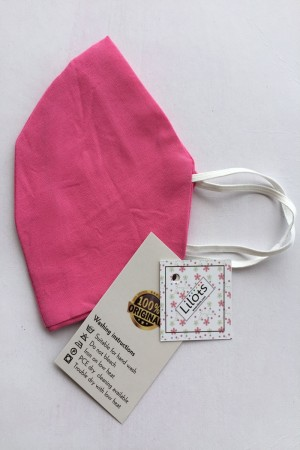 Pink Cotton Mask