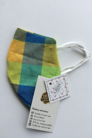 Multi Color Cotton Mask
