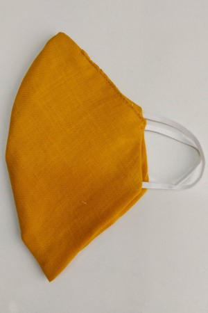 Mustard Cotton Mask