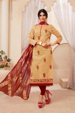 Chiku Modal Silk Dress Material